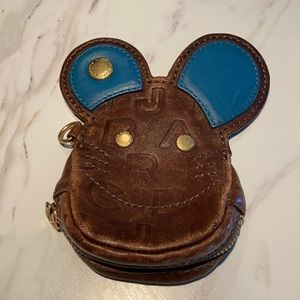 Marc by Marc Jacobs Leather Mouse Coin Purse